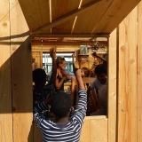 Accueil de scolaires et visite des palissades