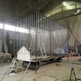 """Cie KUMULUS - 2012 - cage mobile pour """"Les Squames"""""""