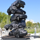 Cie ARTS OSONS - 2014 - brochette de voitures
