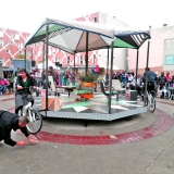 Cie NU COMME L'HEURE - 2012 - manège à motricité vélocipédique