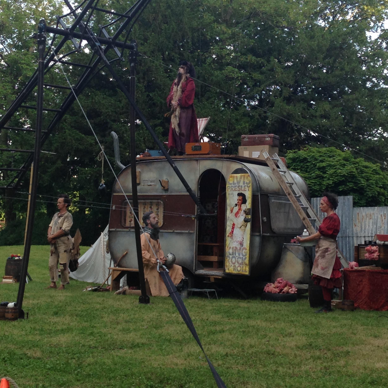 Cirque Hirsute - Le Blues de la Mancha