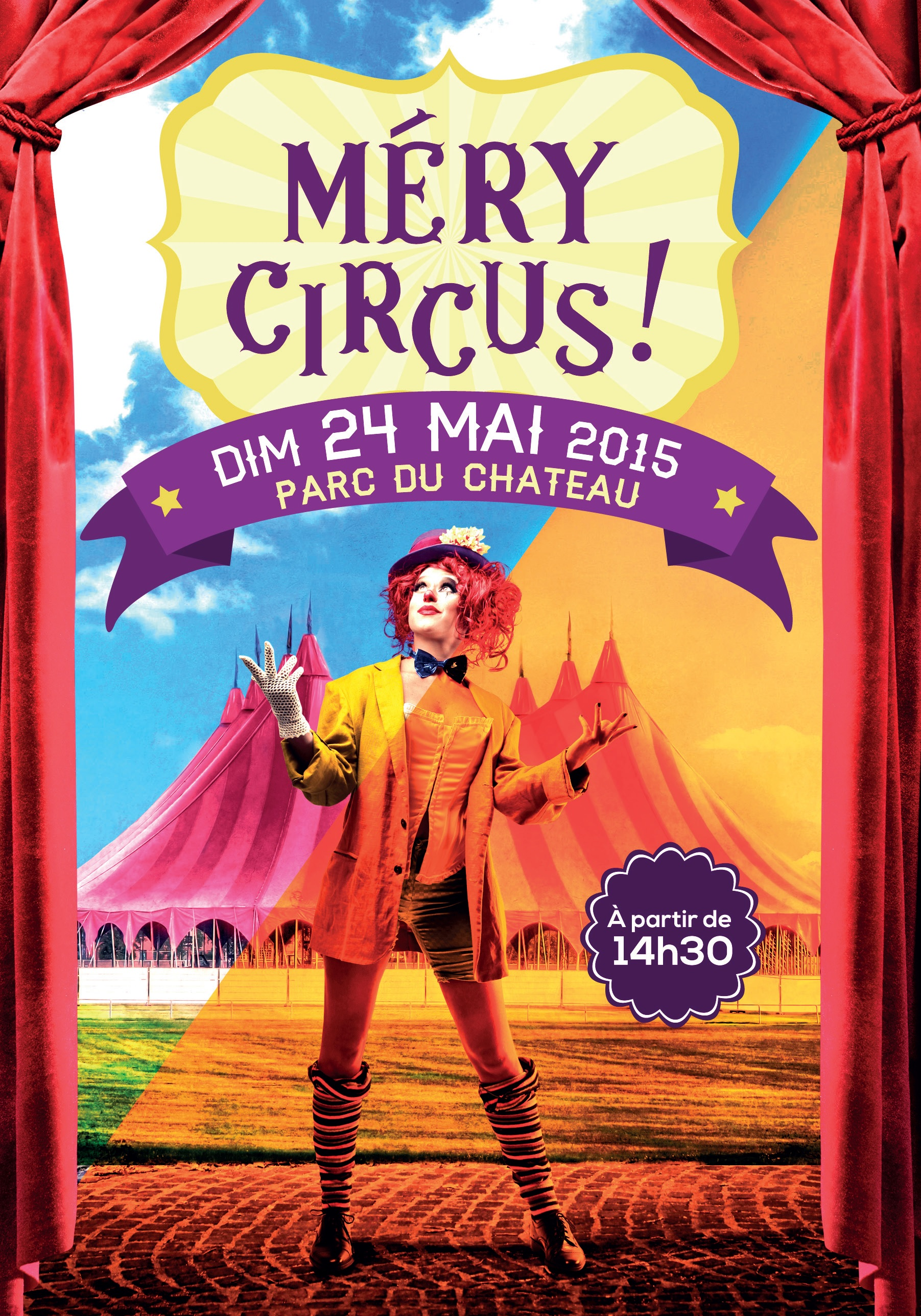 photo mery sur oise cirque